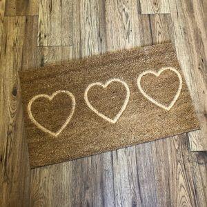Coconut fibre door mat